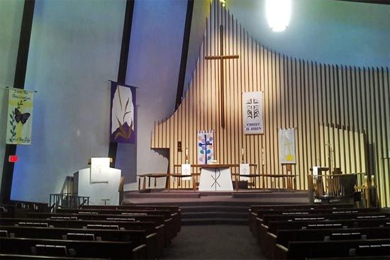 Clairemont Lutheran Interior