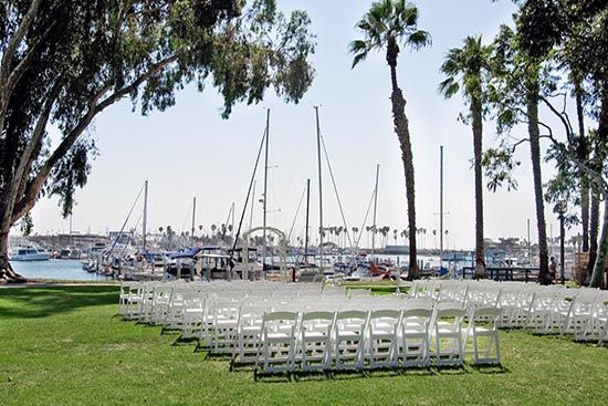 Marina Village - Lawn venue for funeral or memorial